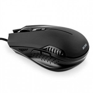 Ποντίκι ACME MS12 Ενσύρματο Optical - Μαύρο