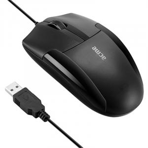 Ποντίκι ACME MS14 Ενσύρματο Optical - Μαύρο