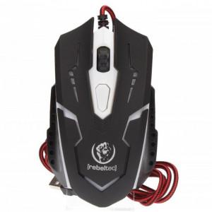 Gaming Ποντίκι Rebeltec Cobra Ενσύρματο - Μαύρο
