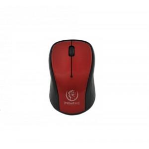 Ποντίκι Rebeltec Comet Ασύρματο - Κόκκινο/Μαύρο