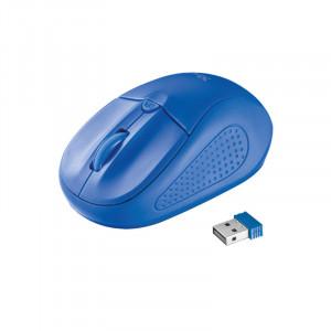 Ποντίκι Trust Primo Ασύρματο - Μπλε