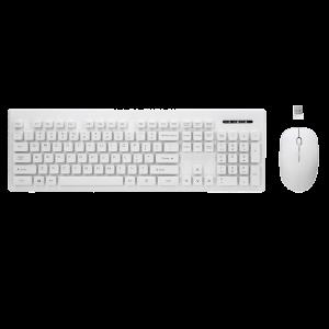 Πληκτρολόγιο και Ποντίκι Rebeltec Whiterun Ασύρματο - Άσπρο