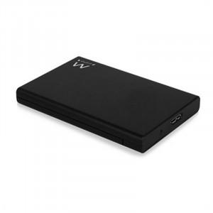 """Εξωτερικό Κουτί Ewent EW7044 HDD/SSD 2.5"""" SATA III USB 3.1 - Μαύρο"""