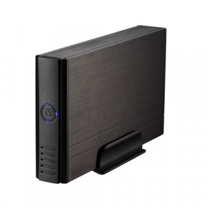 """Εξωτερικό Κουτί TooQ TQE-3520B HDD 3.5"""" SATA III USB 2.0 - Μαύρο"""