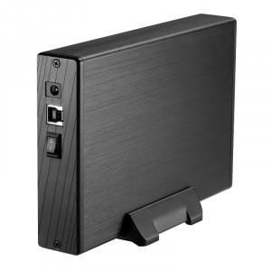 """Εξωτερικό Κουτί TooQ TQE-3527B HDD 3.5"""" SATA III USB 3.0 - Μαύρο"""