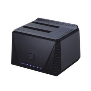 """Dual Dock Station TooQ TQDS-902B 2.5""""-3.5"""" HDD SATA USB 3.0 - Μαύρο"""