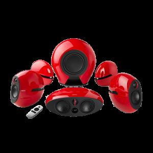 Ηχεία Edifier Luna E255 5.1 380W - Κόκκινο