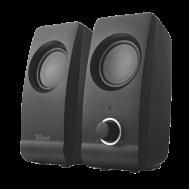 Ηχεία 2.0 Trust Remo Speaker Set - Μαύρο