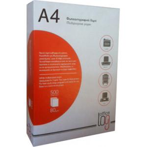 Χαρτί Εκτύπωσης Office Log A4 - 80gr 500 φύλλα