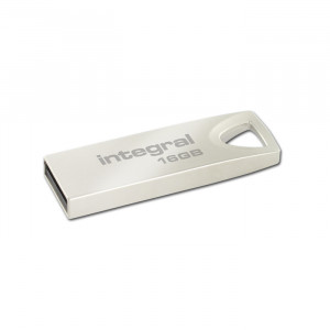 Στικάκι USB Integral Pendrive 16GB USB 2.0 - Ασημί
