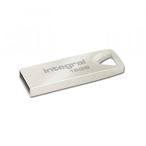 Στικάκι USB Integral Pendrive 16GB USB 2.0 - Ασημί