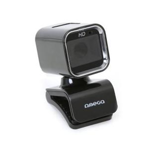 Webcam OMEGA OUW07HQ 1.3 Mpx MIC HQ - Μαύρο