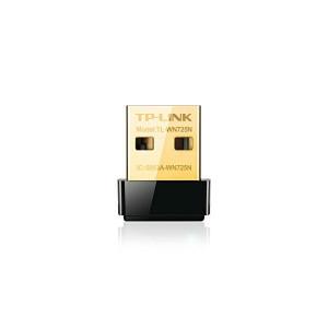 Αντάπτορας Wi-Fi TP-LINK Nano TL-WN725N 150N WPS USB v.2 - Μαύρο