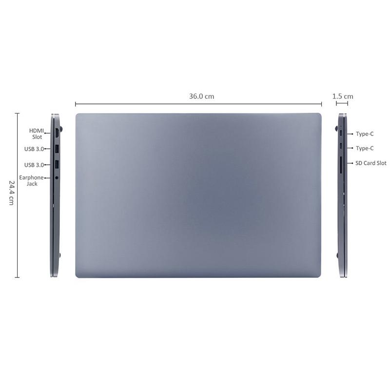 "Xiaomi Mi Notebook PRO GTX Edition 15.6"" i5-8250U NVidia GTX 1050 8GB RAM 1TB PCIe SSD - Γκρι"