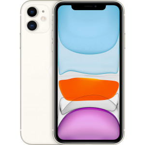 Apple iPhone 11 (64GB) - Λευκό