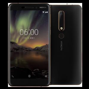Nokia 6.1 (2018) Οκταπύρηνο Snapdragon 630 3GB RAM 32GB ROM 4G - Μαύρο