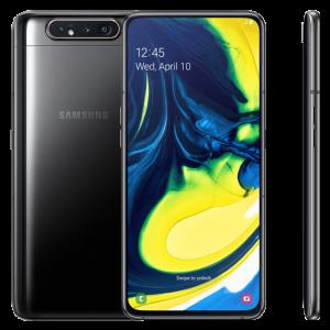 Samsung Galaxy A80 8GB RAM 128GB - Μαύρο