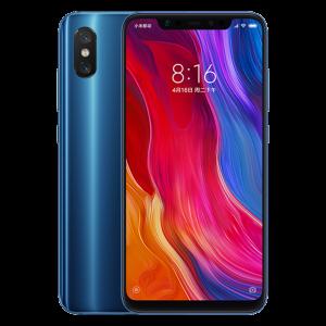 Xiaomi Mi 8 Οκταπύρηνο 2.8GHz Snapdragon 845 6GB RAM 128GB - Μπλε