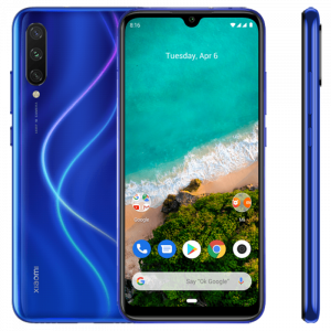 "Xiaomi Mi A3 4GB/128GB Android One - ""Not Just Blue"" (Μπλε - Global)"