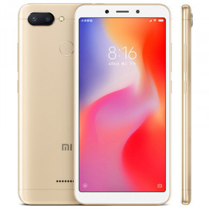 Xiaomi Redmi 6 4GB RAM 64GB Global Version - Χρυσό