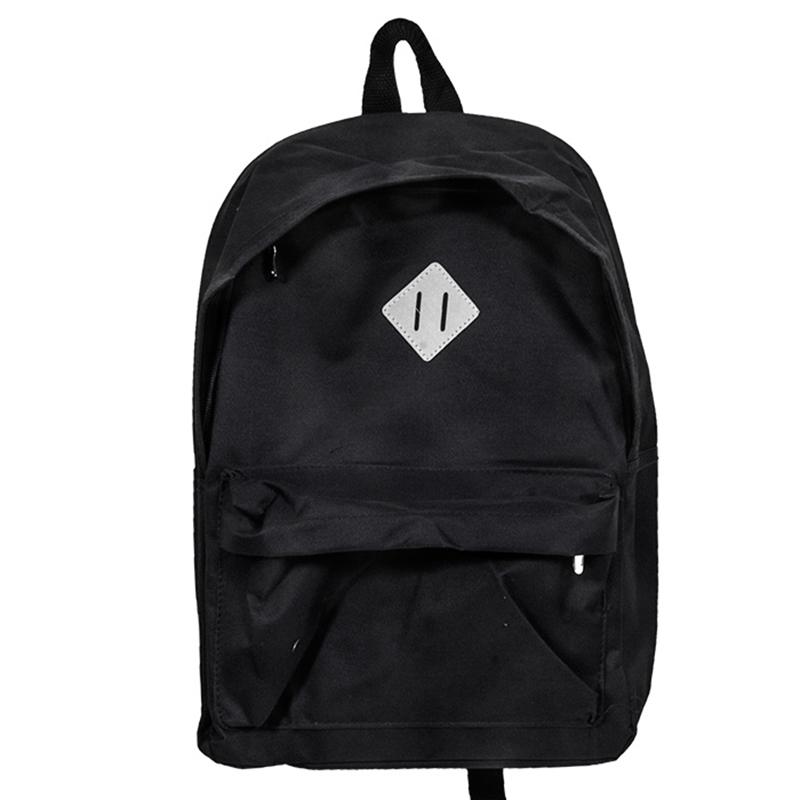 39fb726272 Σχολική Τσάντα Backpack JUSTnote (701308) - Μαύρο
