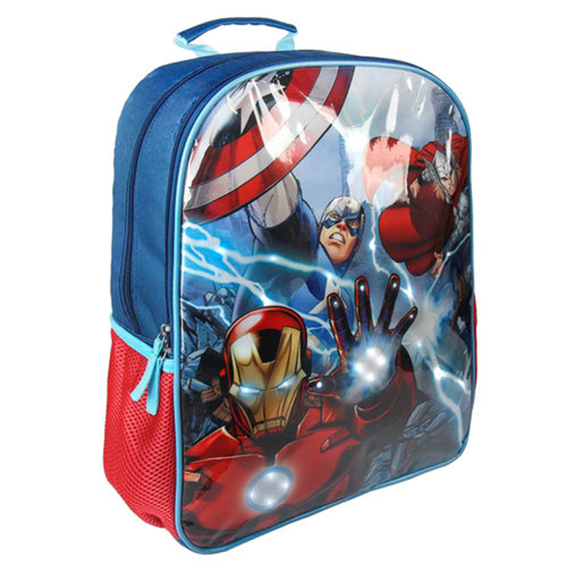 d41cb1347e Σχολική Τσάντα Backpack Cerda Marvel Avangers με LED