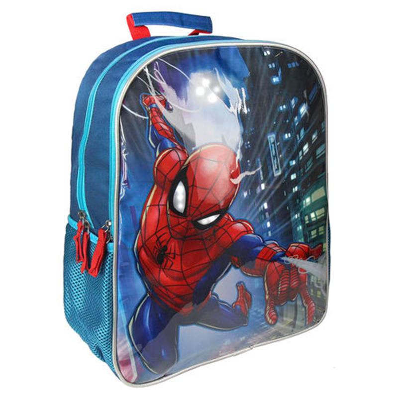 ce7415d067 Σχολική Τσάντα Backpack Cerda Marvel Spiderman με LED