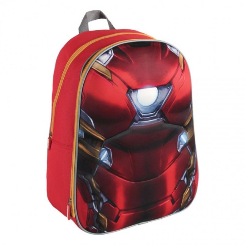 9c3d4c489e Σχολική Τσάντα Backpack Marvel Iron Man 3D EVA 40cm