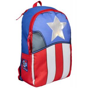 Σχολική τσάντα backpack Marvel Captain America με κουκούλα