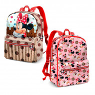 Σχολική Τσάντα Backpack Δύο όψεων Karactermania Disney Minnie Mouse Muffin