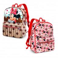 Σχολική Τσάντα Backpack Δύο όψεων Karactermania Disney Minnie Mouse Muffin
