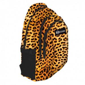 Σχολική τσάντα backpack Mousse Λεοπάρ 47cm