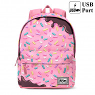 Σχολική τσάντα backpack Oh My Pop Sprinkles 42cm