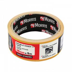 Κολλητική Ταινία Διπλής Όψεως Morris 38mm x 5m
