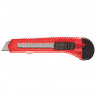 Κοπίδι Πλαστικό Forpus 18mm - Κόκκινο