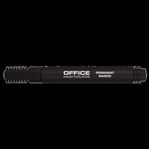 Μαρκαδόρος Ανεξίτηλος Office Products 1-3mm - Μαύρο