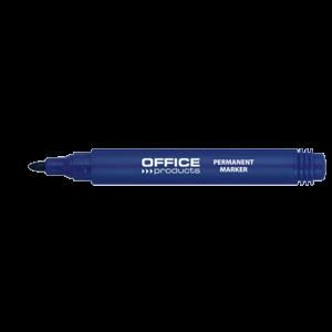 Μαρκαδόρος Ανεξίτηλος Office Products 1-3mm - Μπλε