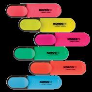 Μαρκαδόρος Υπογραμμίσεων Kores Bright Liner - Πορτοκαλί