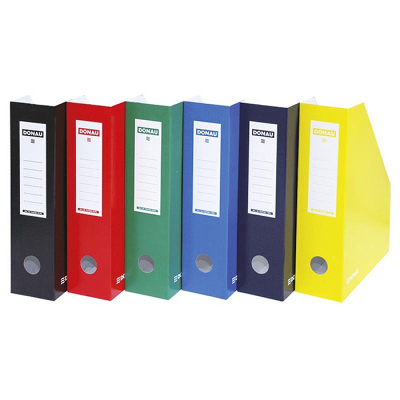 Κουτί Αρχείου Κοφτό DONAU FSC A4/80 390GR - Πράσινο