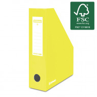 Κουτί Αρχείου Κοφτό DONAU FSC A4/80 390GR - Κίτρινο