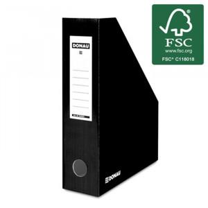 Κουτί Αρχείου Κοφτό DONAU FSC A4/80 390GR - Μαύρο
