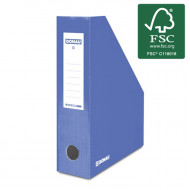 Κουτί Αρχείου Κοφτό DONAU FSC A4/80 390GR - Μπλε