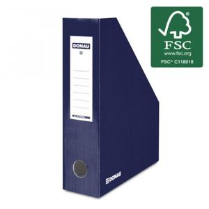 Κουτί Αρχείου Κοφτό DONAU FSC A4/80 390GR - Σκούρο Μπλε