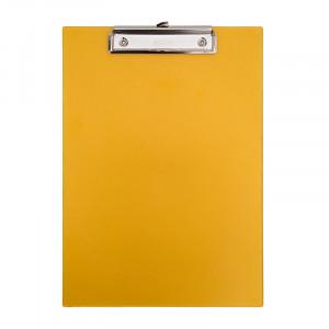 Ντοσιέ Σεμιναρίου με Κλιπ - Διάφανο Κίτρινο