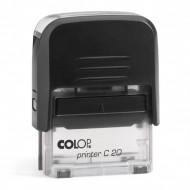 Σφραγίδα COLOP C20 - Μαύρο/Διάφανο