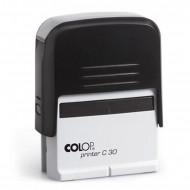 Σφραγίδα COLOP C30 - Μαύρο/Άσπρο