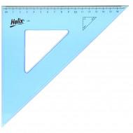 Τρίγωνο με Πατούρα Helix Oxford L90 23cm / 45 Μοιρών
