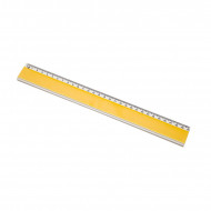 Χάρακας Ιταλίας Χρωματιστός 30cm - Κίτρινο