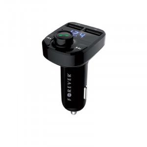 Φορτιστής Αυτοκινήτου Bluetooth FM Αναμεταδότης Forever TR-330 - Μαύρο