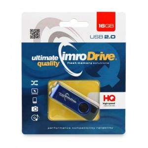 Στικάκι USB Pendrive IMRO Axis 16GB - Μπλε/Μαύρο